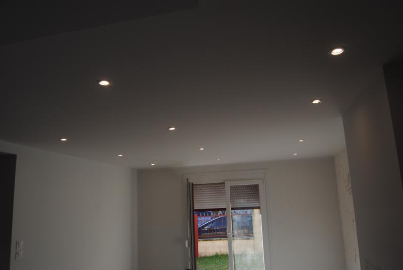 Eclairage Renovation Plafond